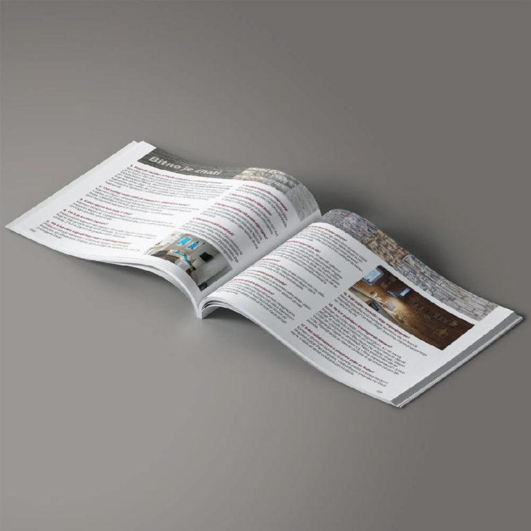 DIVA Design - priprema kataloga, brošure, dizajn, Kamen dizajn