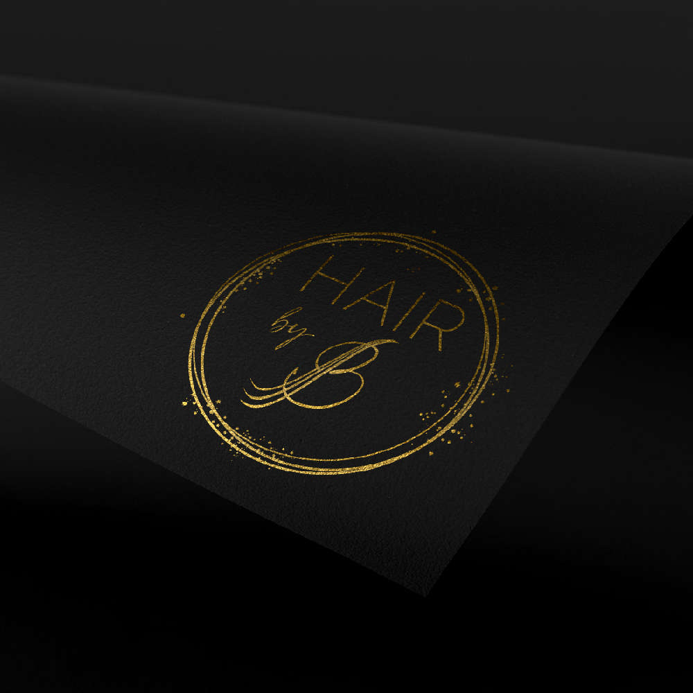 DIVA Design - branding, logo, hair extension, frizerski studio B