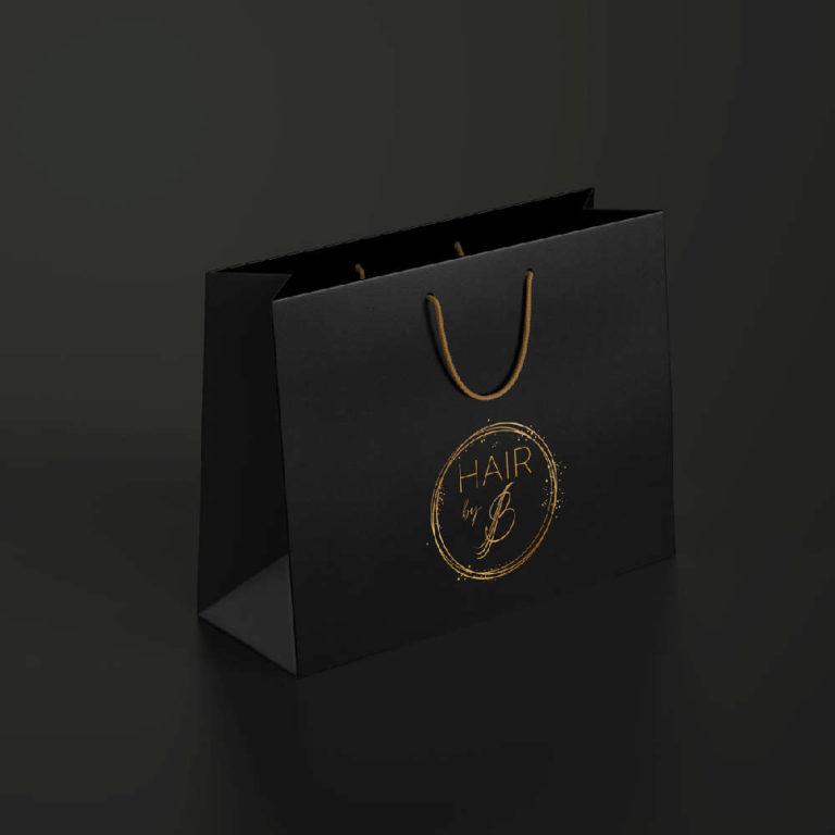 DIVA Design - branding, logo, hair extension, frizerski studio B