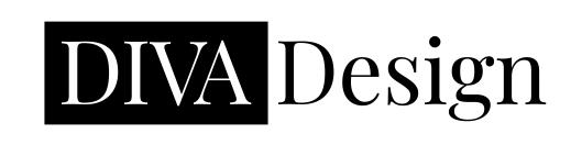 DIVA Design - logo, branding, visual identity