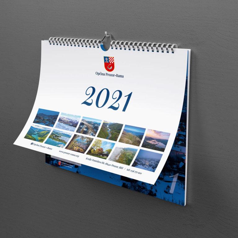 DIVA Design - kalendar, layout design